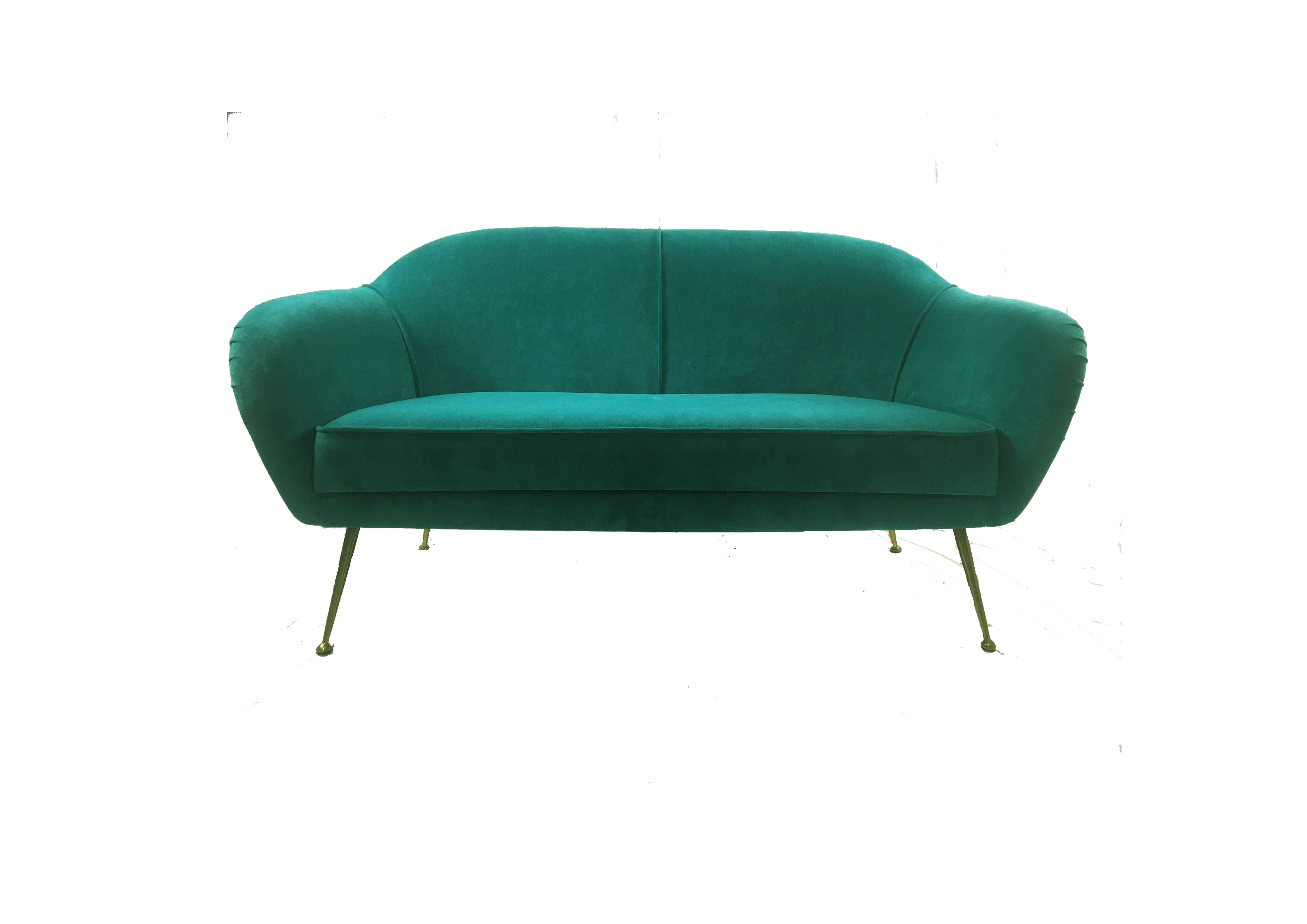 Mid-Mod Two-seater Sofa, 1950's